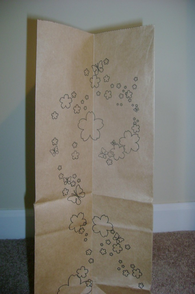 Office Max Paper Bag Ad Side