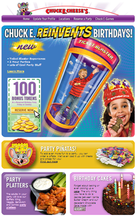 Like Chuck E Cheese's coupons? Try these...
