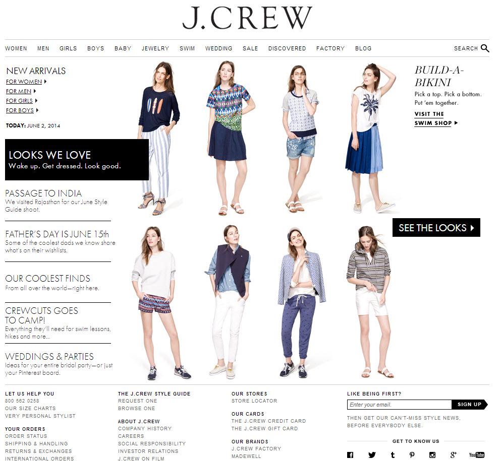 jcrew-landing-page