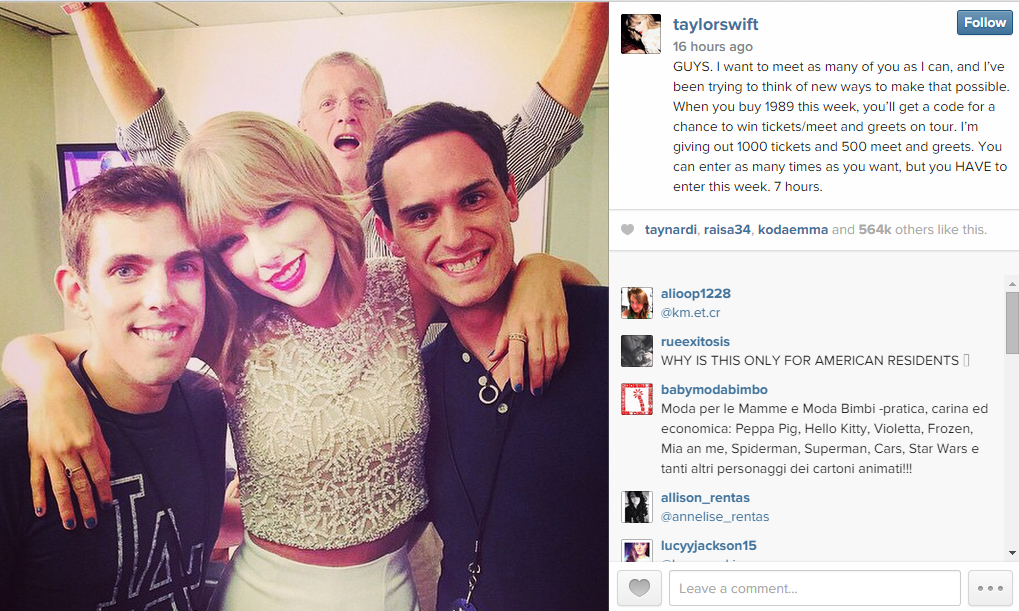 3 Instagram Lessons You Can Learn From Taylor Swift Marketingsherpa Blog