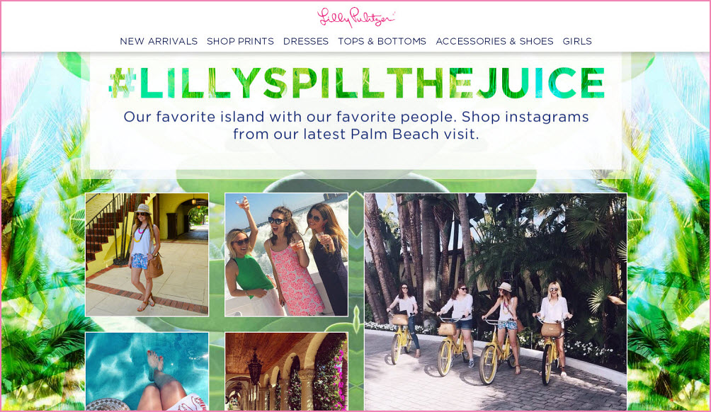 Spill the Juice Brand Influencers