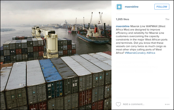 @maerskline Instagram Post