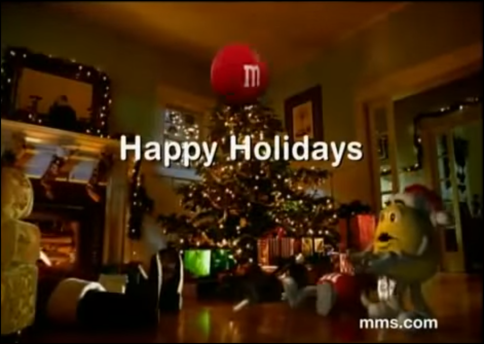 M&Ms Holiday Commercial