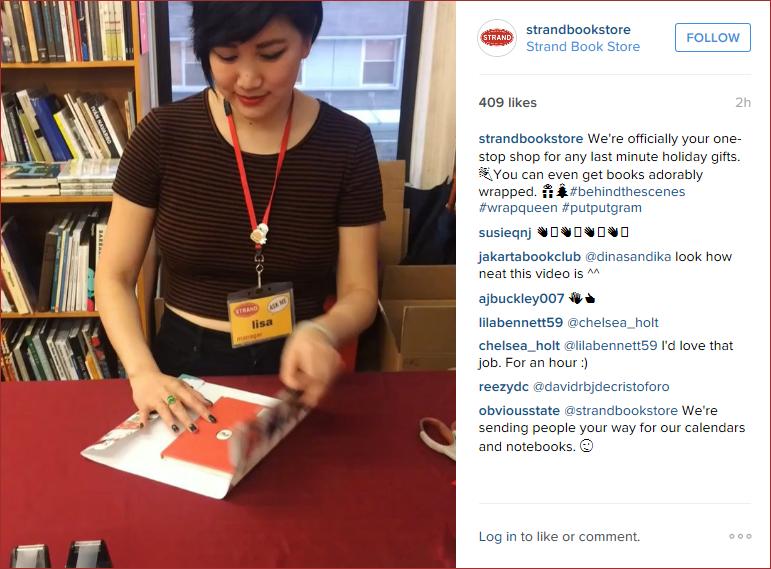 Strand Book Store Instagram