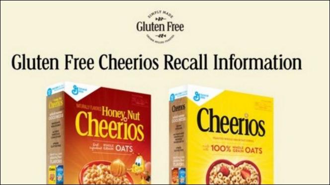Cheerios GF Cereal