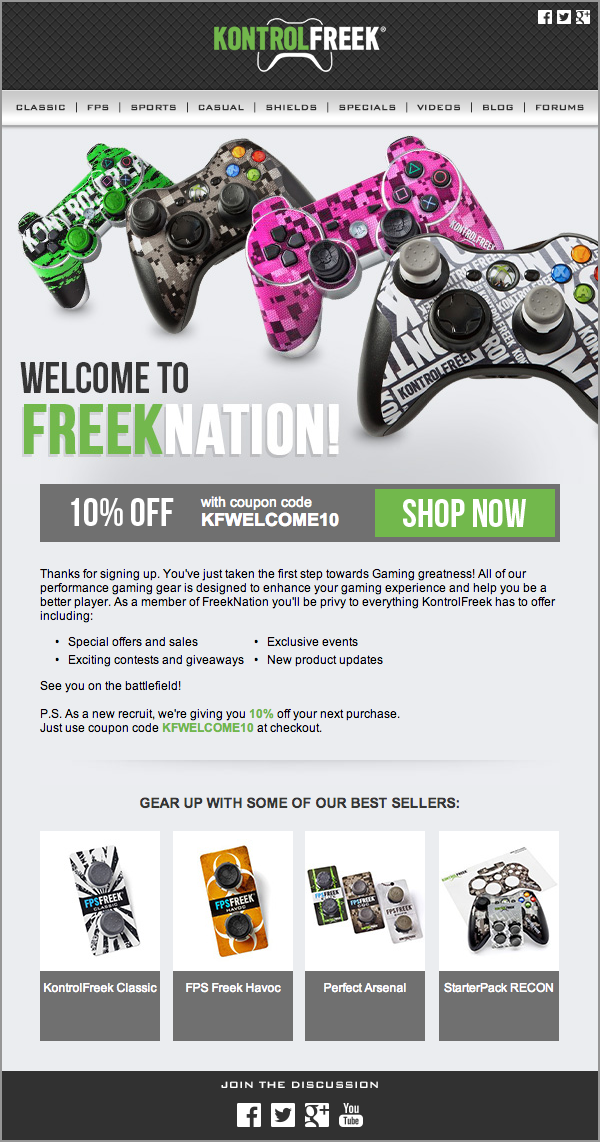 Welcome to the KontrolFreek Nation
