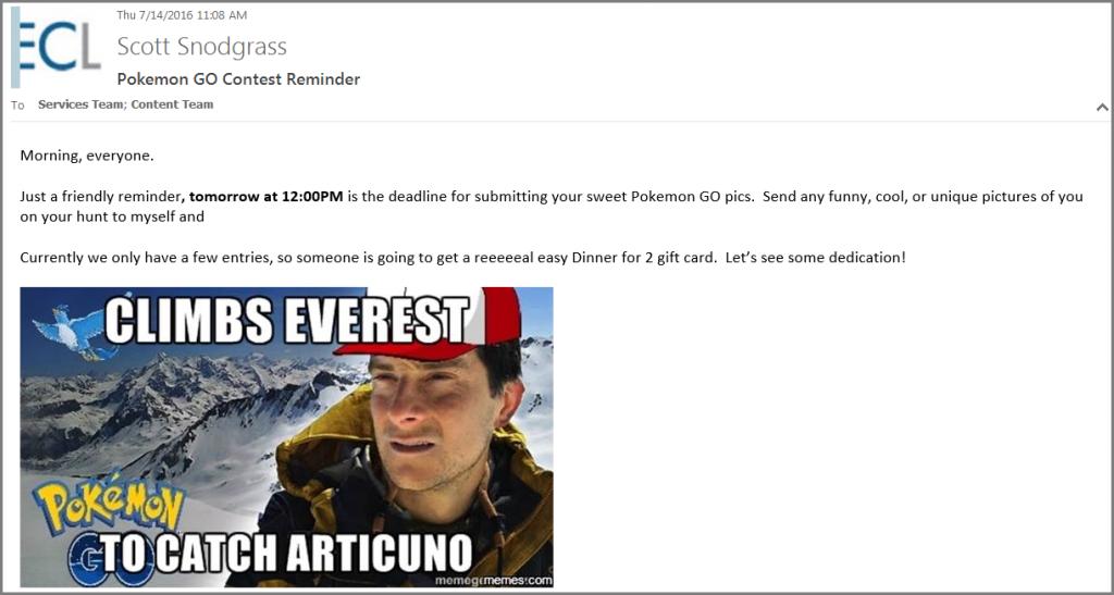 PokemonGo MECLABS