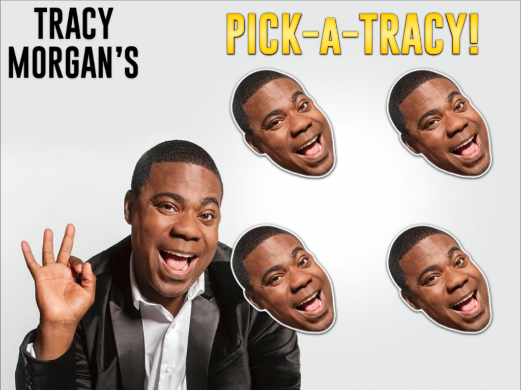 Pick a Tracy game